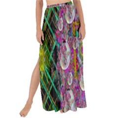 The Most Beautiful Planet Is Earth On The Sky Maxi Chiffon Tie Up Sarong by pepitasart