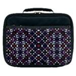 Futuristic Geometric Pattern Lunch Bag