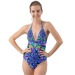 Hope - Halter Cut-Out One Piece Swimsuit