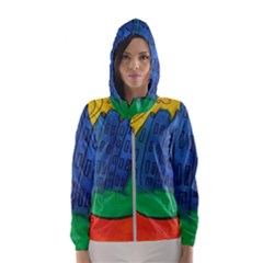 City Hooded Wind Breaker (women)