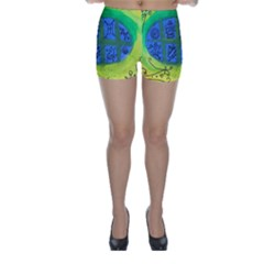 Window Egg Skinny Shorts by snowwhitegirl