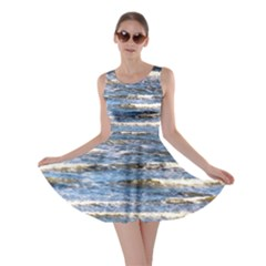Waves Skater Dress by chihuahuadresses