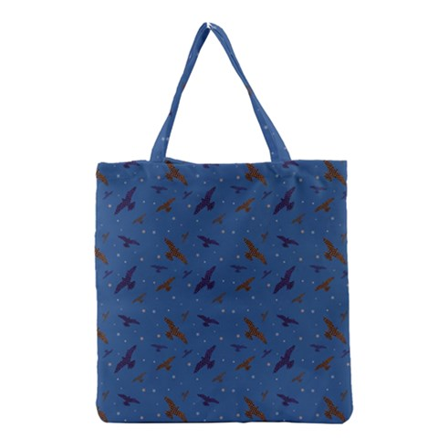 Crows Grocery Tote Bag