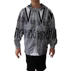 Vulcan Thing Hooded Wind Breaker (kids) by Howtobead
