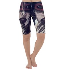 Femininely Badass Cropped Leggings  by sirenstore