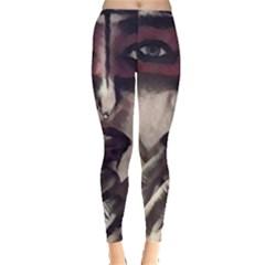 Femininely Badass Leggings  by sirenstore