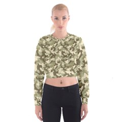 Camouflage 03 Cropped Sweatshirt by quinncafe82