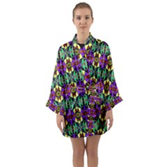 Artwork By Patrick Pattern 24 Long Sleeve Kimono Robe by ArtworkByPatrick