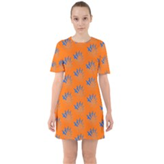 Shapeshifting Sixties Short Sleeve Mini Dress by greenthanet