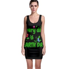 Earth Day Bodycon Dress by Valentinaart
