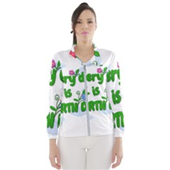 Earth Day Wind Breaker (women) by Valentinaart