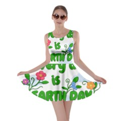 Earth Day Skater Dress by Valentinaart
