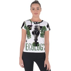 Ecology Short Sleeve Sports Top  by Valentinaart