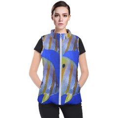 Butterfly Fish 1 Women s Puffer Vest by trendistuff