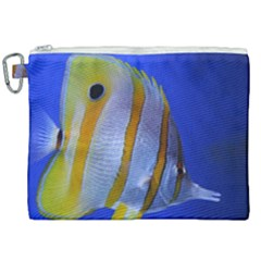 Butterfly Fish 1 Canvas Cosmetic Bag (xxl) by trendistuff