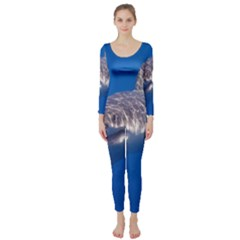 Great White Shark 5 Long Sleeve Catsuit by trendistuff