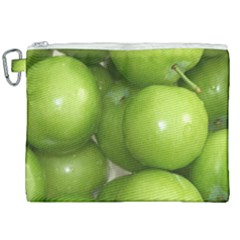 Apples 4 Canvas Cosmetic Bag (xxl) by trendistuff