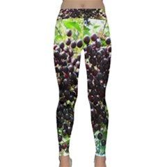 Elderberries Classic Yoga Leggings by trendistuff