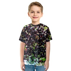 Elderberries Kids  Sport Mesh Tee by trendistuff