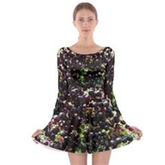 Elderberries Long Sleeve Skater Dress by trendistuff