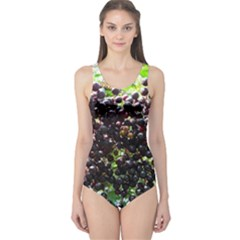 Elderberries One Piece Swimsuit by trendistuff