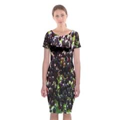 Elderberries Classic Short Sleeve Midi Dress by trendistuff