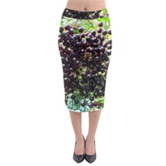 Elderberries Midi Pencil Skirt by trendistuff