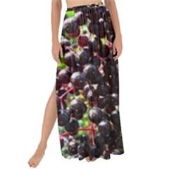 Elderberries Maxi Chiffon Tie Up Sarong by trendistuff