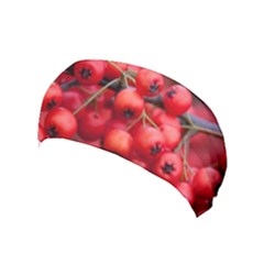 Red Berries 1 Yoga Headband by trendistuff