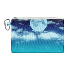 Dreamy Night Canvas Cosmetic Bag (large) by augustinet