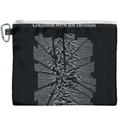 Moving Units Collision With Joy Division Canvas Cosmetic Bag (xxxl) by Samandel