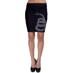 Gadsden Flag Don t Tread On Me Bodycon Skirt by snek