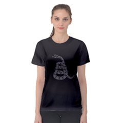 Gadsden Flag Don t Tread On Me Women s Sport Mesh Tee by snek