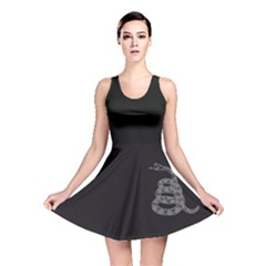 Gadsden Flag Don t Tread On Me Reversible Skater Dress by snek