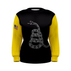 Gadsden Flag Don t Tread On Me Women s Sweatshirt by snek
