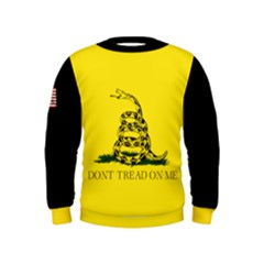 Gadsden Flag Don t Tread On Me Kids  Sweatshirt by snek