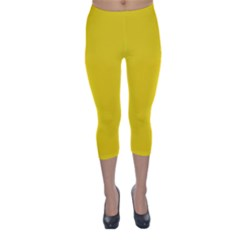 Gadsden Flag Don t Tread On Me Capri Winter Leggings  by snek