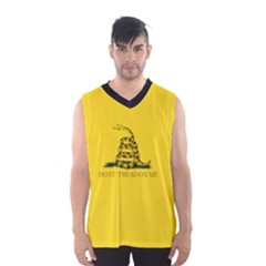 Gadsden Flag Don t Tread On Me Men s Basketball Tank Top by snek