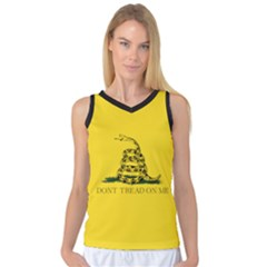 Gadsden Flag Don t Tread On Me Women s Basketball Tank Top by snek