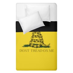 Gadsden Flag Don t Tread On Me Duvet Cover Double Side (single Size) by MAGA