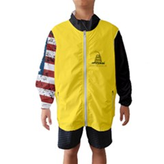 Gadsden Flag Don t Tread On Me Wind Breaker (kids) by snek