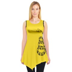 Gadsden Flag Don t Tread On Me Sleeveless Tunic by snek
