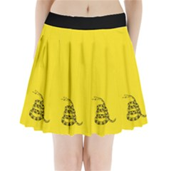 Gadsden Flag Don t Tread On Me Pleated Mini Skirt by snek
