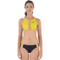 Gadsden Flag Don t Tread On Me Perfectly Cut Out Bikini Set by snek