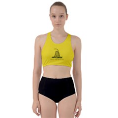 Gadsden Flag Don t Tread On Me Racer Back Bikini Set by MAGA