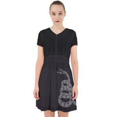 Gadsden Flag Don t Tread On Me Adorable In Chiffon Dress by MAGA