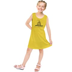 Gadsden Flag Don t Tread On Me Kids  Tunic Dress by snek