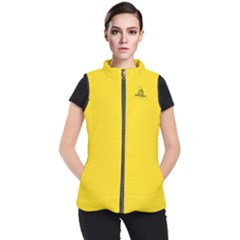 Gadsden Flag Don t Tread On Me Women s Puffer Vest by snek