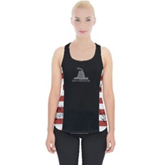 Gadsden Flag Don t Tread On Me Piece Up Tank Top by MAGA