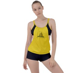 Gadsden Flag Don t Tread On Me Boyleg Tankini Set  by snek